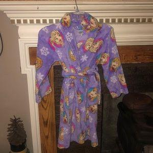 Disney Frozen fluffy robe